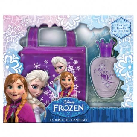 Coffret cadeau - Eau de toilette 50ml avec un sac en PVC - La reine des neiges - Disney Frozen