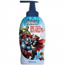 Gel Bain Douche 1L - Avengers - Ginseng et Baobab