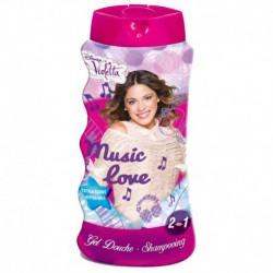 Gel douche et shampoing 2en1 - 475ml - Disney Violetta