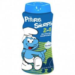 Gel douche et shampoing 2en1 - 475ml - Les Schtroumpfs - The Smurfs