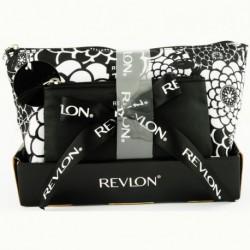 Trousse beaute Black flower - 2 Pieces  -Tote Set -Revlon