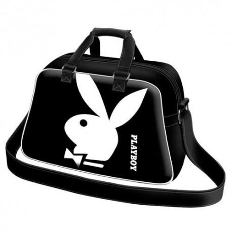 Playboy - White - Sac de Voyage Basic