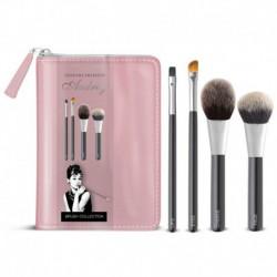 Trousse complète de pinceaux à maquillage - Audrey Hepburn