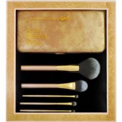 Gloss! Kit de Pinceaux Maquillage Professional - 6pcs