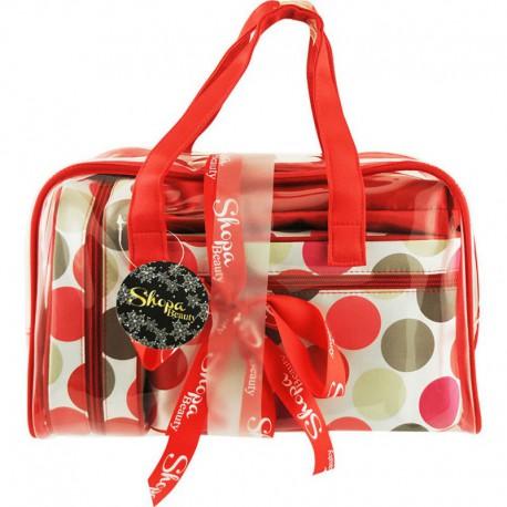 Shoppa Beauty - Vanity de Luxe Rouge - 4cs