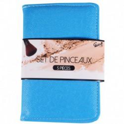 Gloss! Kit de Pinceaux Maquillage Rose - 5pcs