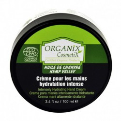 Crème Mains Hydratation Intense 100% BIO à l'Huile de Chanvre Certifié ECOCERT - 100ml