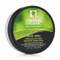 Crème Pour les Mains Hydratation Longue Durée 100% BIO à Aloe Vera Certifié ECOCERT - 100ml