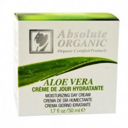 Crème de Jour Hydratante 100% BIO à Aloe Vera Certifié ECOCERT - 50ml