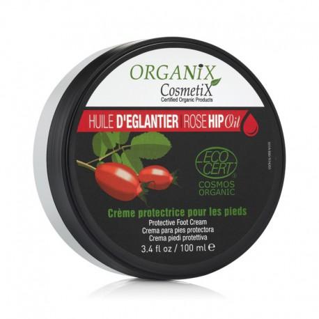 Crème Protectrice Pour les Pieds 100% BIO à l'Huile d'églantier Certifié ECOCERT - 100ml