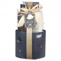 Coffret de bain bien-être à la vanille et tilleul - Idée cadeau femme