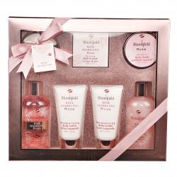 Coffret cadeau soins de beauté - Collection Bloomfield - Rose