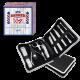 Set de manucure avec pochette de rangement - 9 pcs
