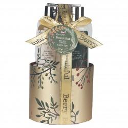 Coffret soin de bain à la vanille et fleur de tilleul - Idée cadeau
