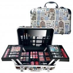 Mallette de maquillage XXXL incluant 4 vernis - Clothing style