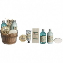 Gloss! Sceau de Bain Bois Fresh Bath - Aloe Vera et Menthe Poivrée - 6pcs