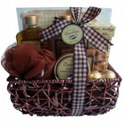 Coffret de bain gourmand parfum chocolat - 9pcs