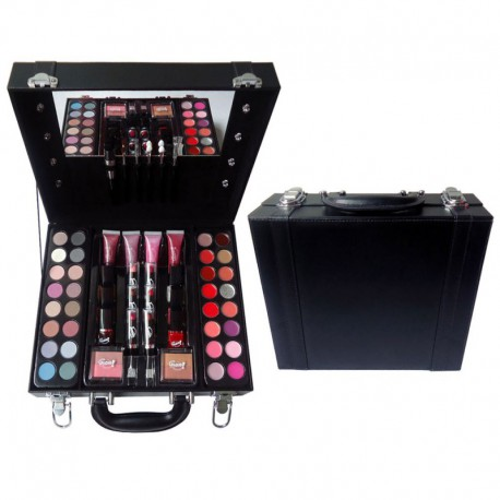 Mallette de Maquillage - Studio Hollywood Black - 60 Pcs