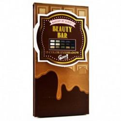 Gloss! Palette de Maquillage Tablette de Chocolat Caramel - 17pcs