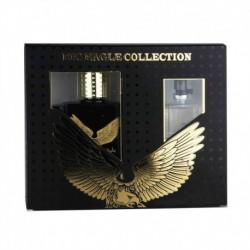 Coffret Cadeau Homme Eau de Toilette 100ml et 15ml Big Eagle Collection  - Real Time