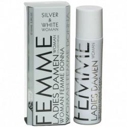 Eau de Parfum Femme 100ml Silver & White Woman